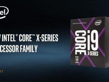 Yeni Nesil Intel İşlemci Serisi - i9 Core X 27