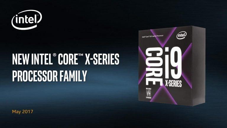 Yeni Nesil Intel İşlemci Serisi - i9 Core X 1