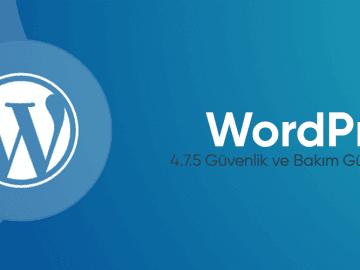 WordPress 4.7.5 Güvenlik ve Bakım Güncellemesi Yayında 29