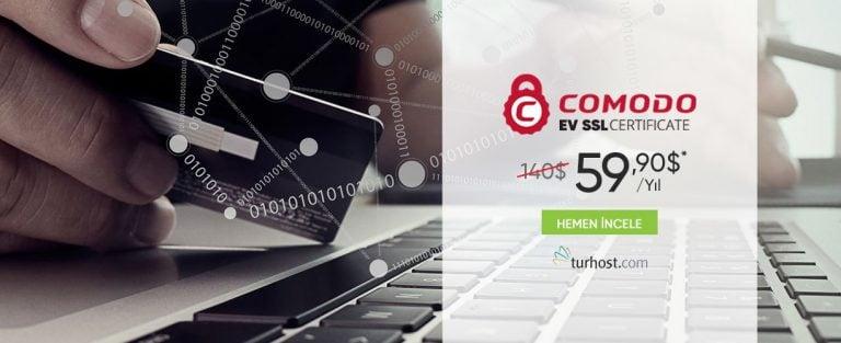 COMODO EV SSL Sertifikası %57 İndirim Fırsatı! 1