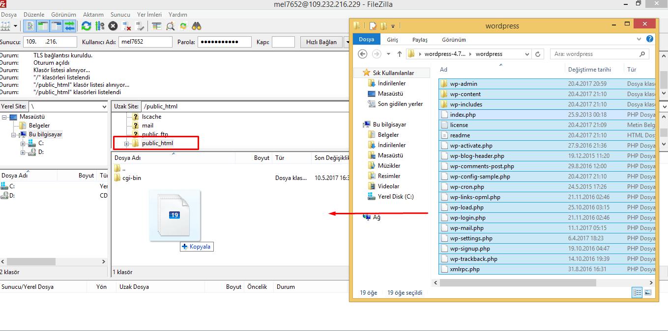wordpress-config-dosyası