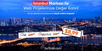 .ist ve .istanbul Domain Kampanyası 25