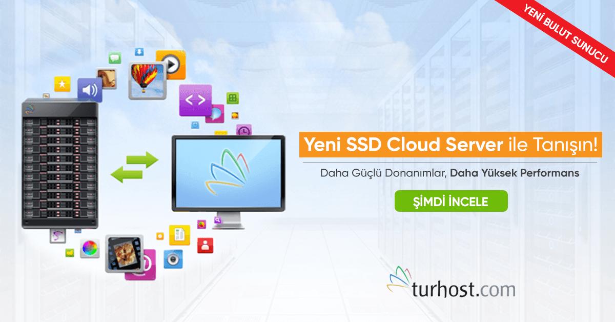 SSD Cloud Server (Bulut Sunucu)   Hayal Gücünüzü Zorlayın! 40