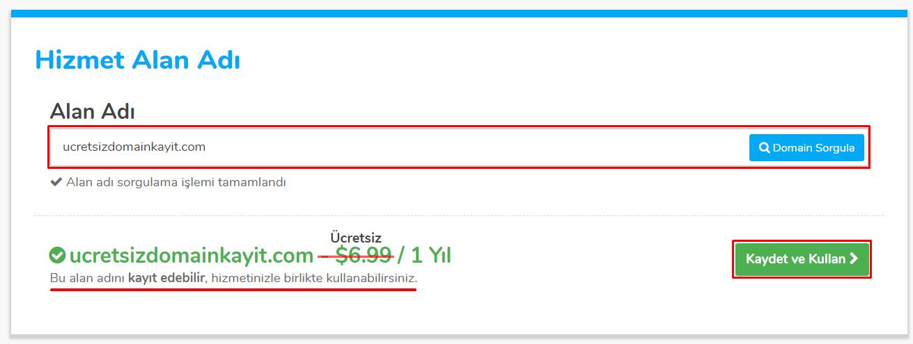 Ücretsiz Domain Kayıt ve Transfer Fırsatı! 41