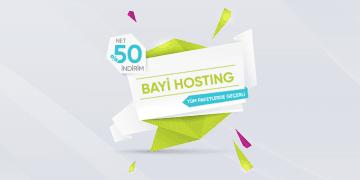 Bayi (Reseller) Hosting Kampanyası | %50 İndirim Fırsatı! 50
