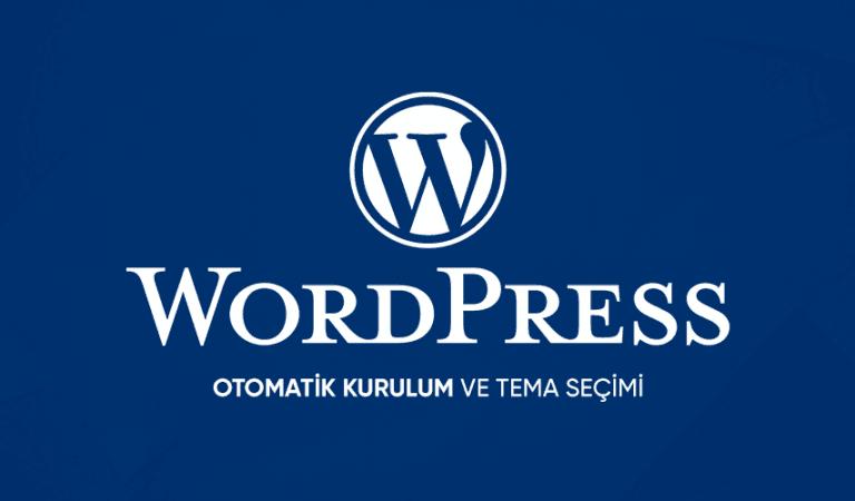 1 Dakikada WordPress Web Sitesi Nasıl Kurulur? (Video Anlatım)