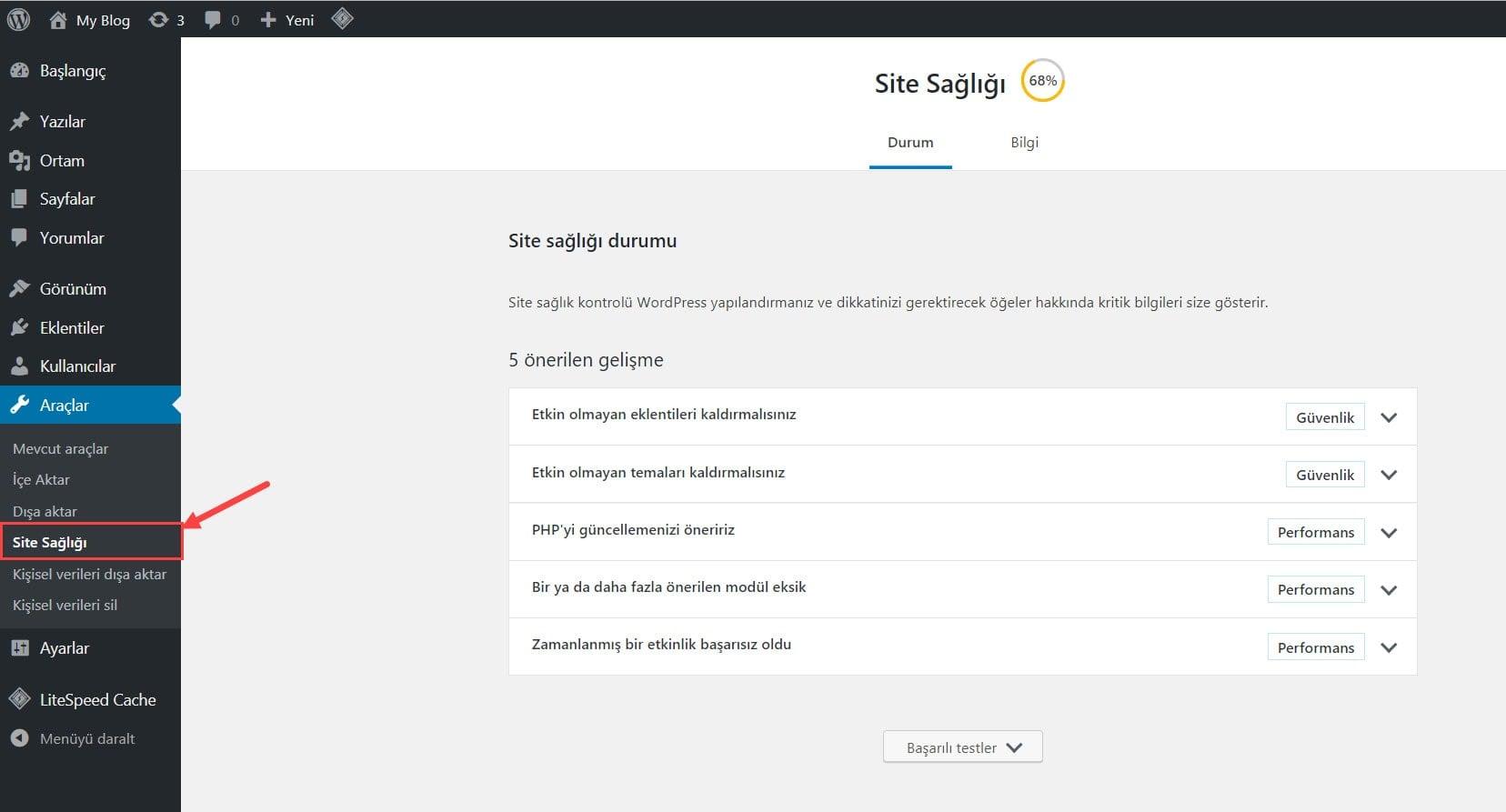WordPress 5.2 Versiyonu Yayınlandı! 40