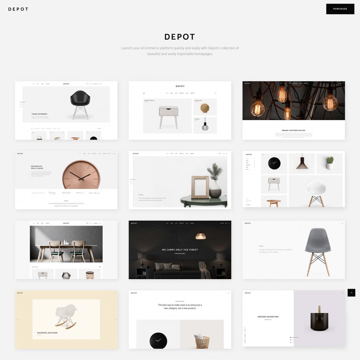 Depot Eticaret WordPress Teması