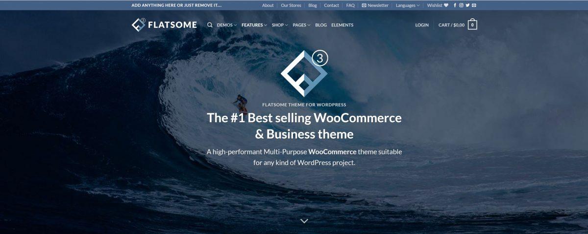 Flatsome WordPress Teması