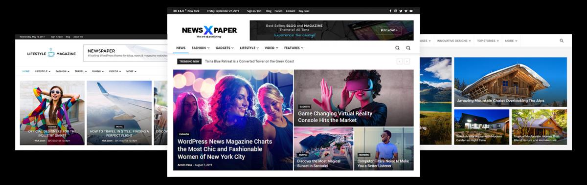 NewsPaper Demo tasarım