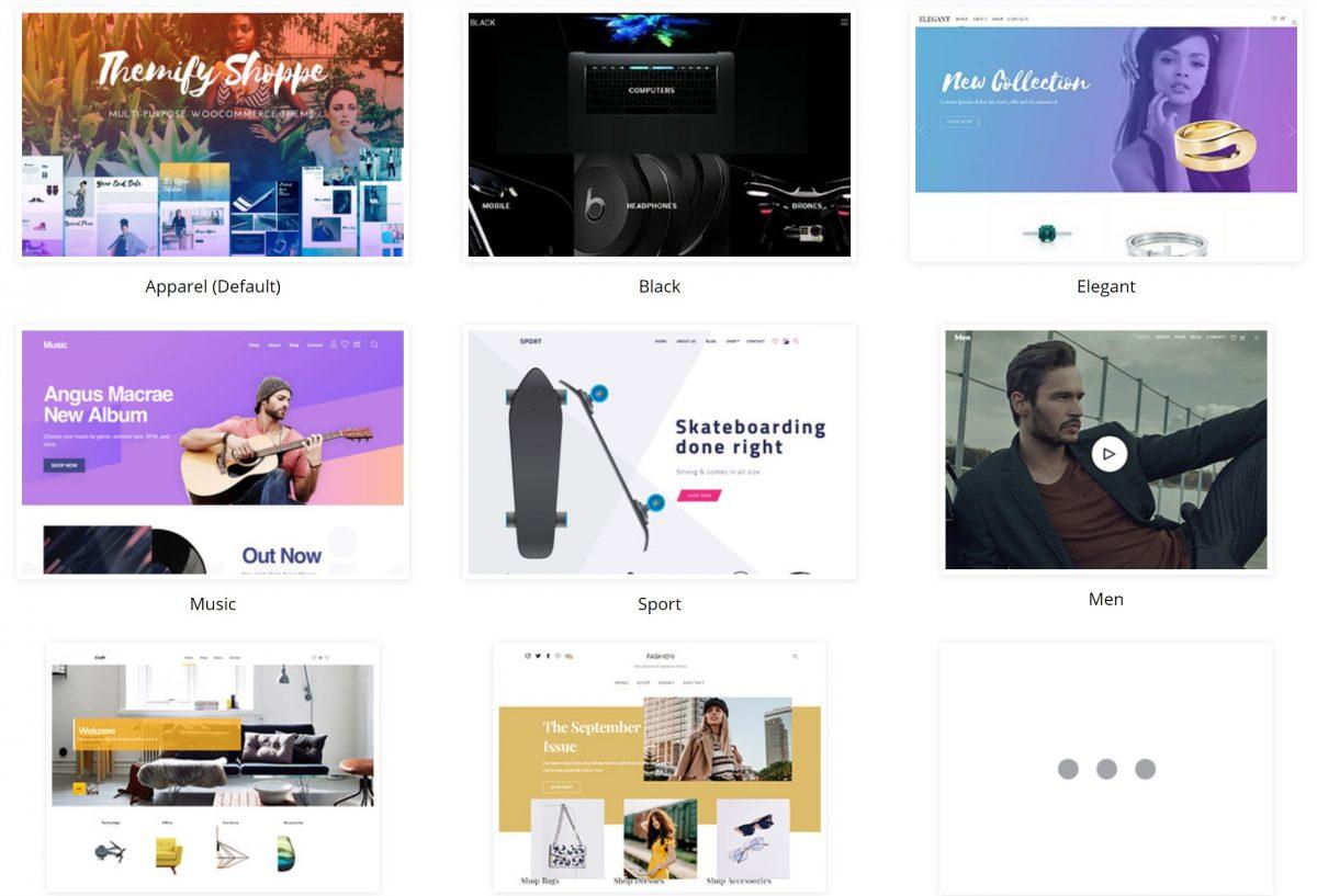 Shoppe WordPress Teması Demo