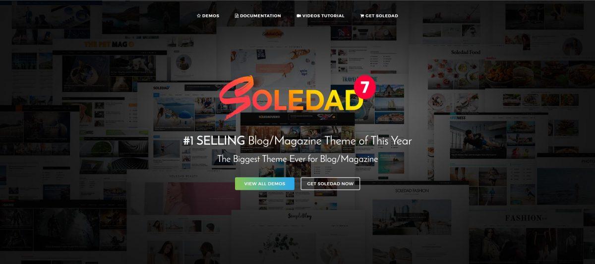 Soledad WordPress Teması