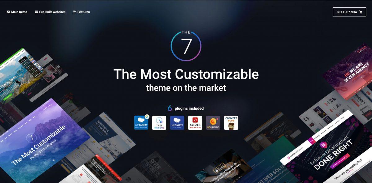 The7 WordPress Teması