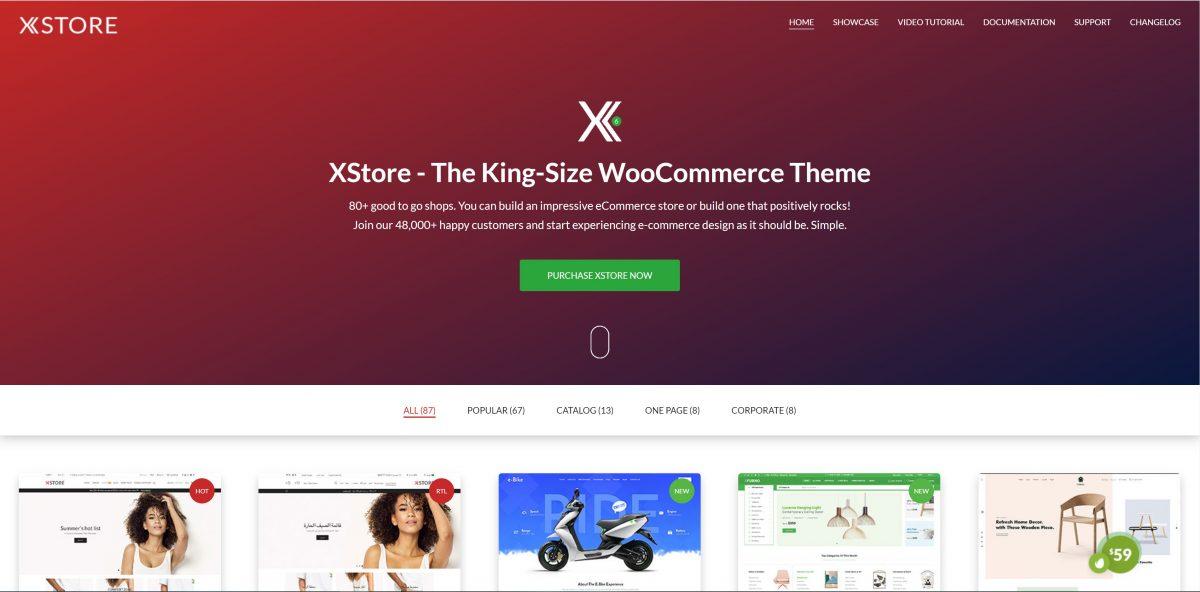 X-Store WordPress E-ticaret teması