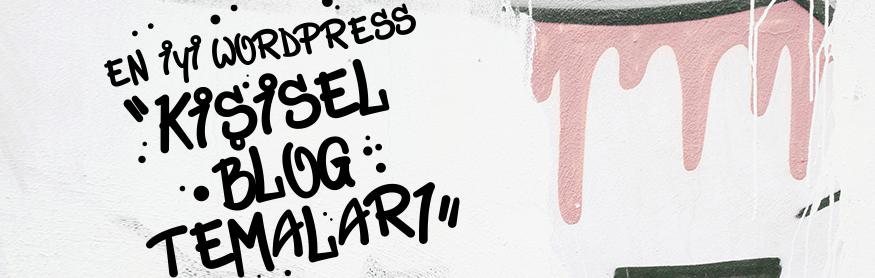 En iyi wordpress kişisel blog temaları
