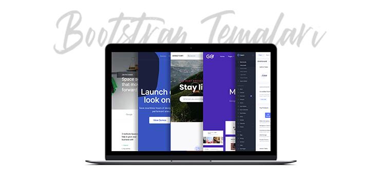 Bootstrap bir web sitesi oluşturmak için gerekli olan tüm ögeleri içerir.