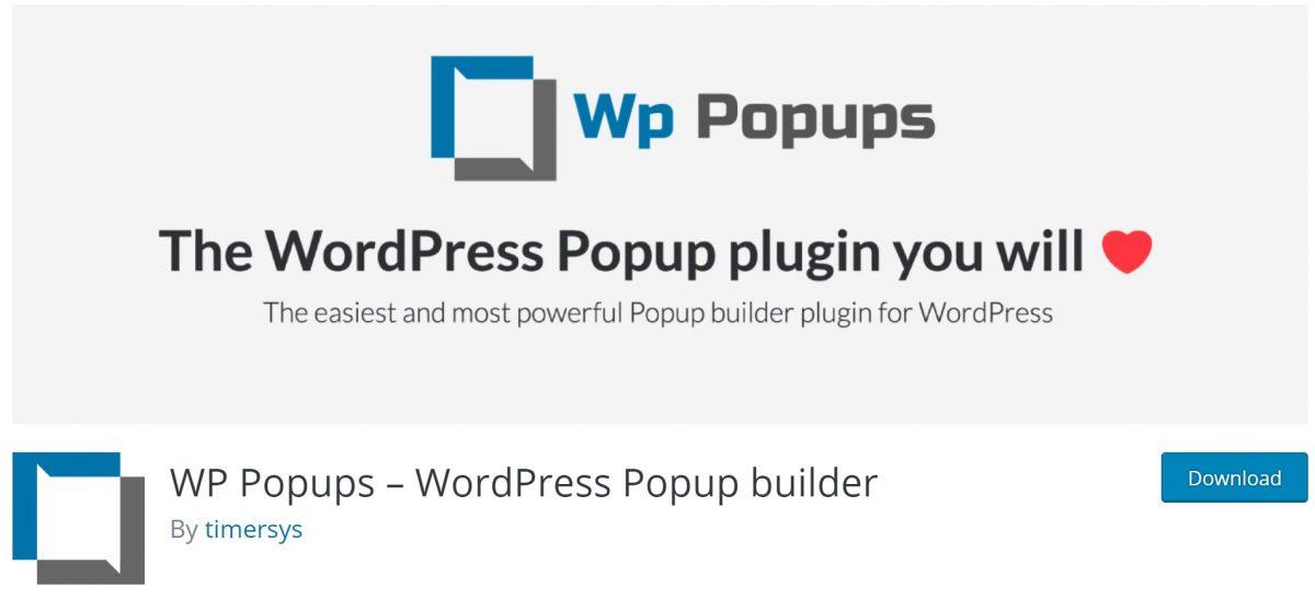 Wp Popups eklentileri