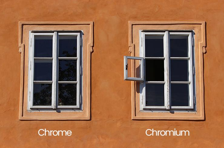 Chromium ve chrome farkı