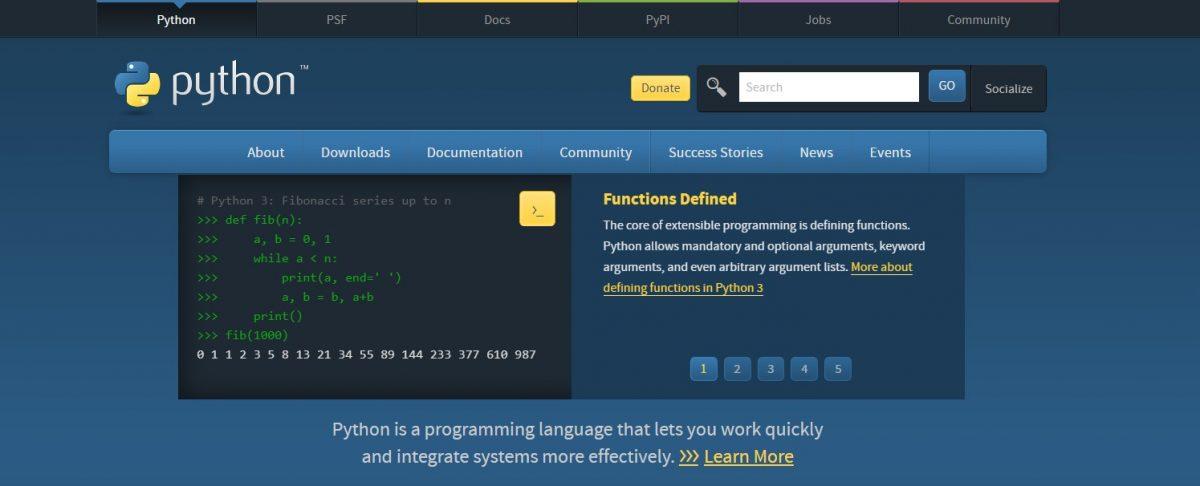 python yazılım dili
