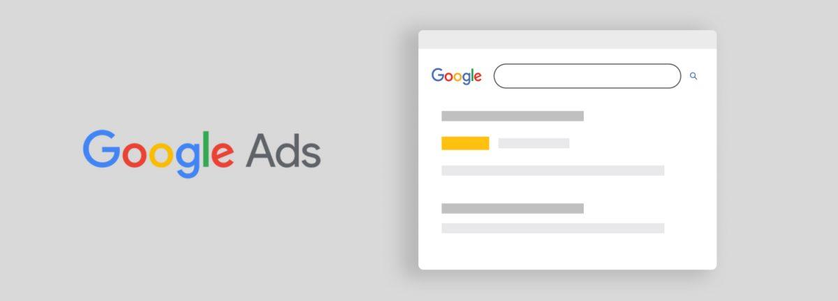 """Metin şeklindeki arama ağı reklamları, Google'ın arama sonuçlarının en üstünde """"Reklam"""" etiketiyle görülür."""