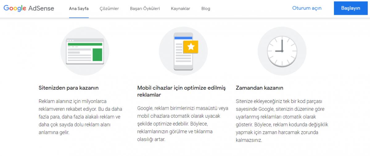 AdSense, web sitesi sahiplerinin reklamlardan para kazanmasını sağlayan bir Google platformu!