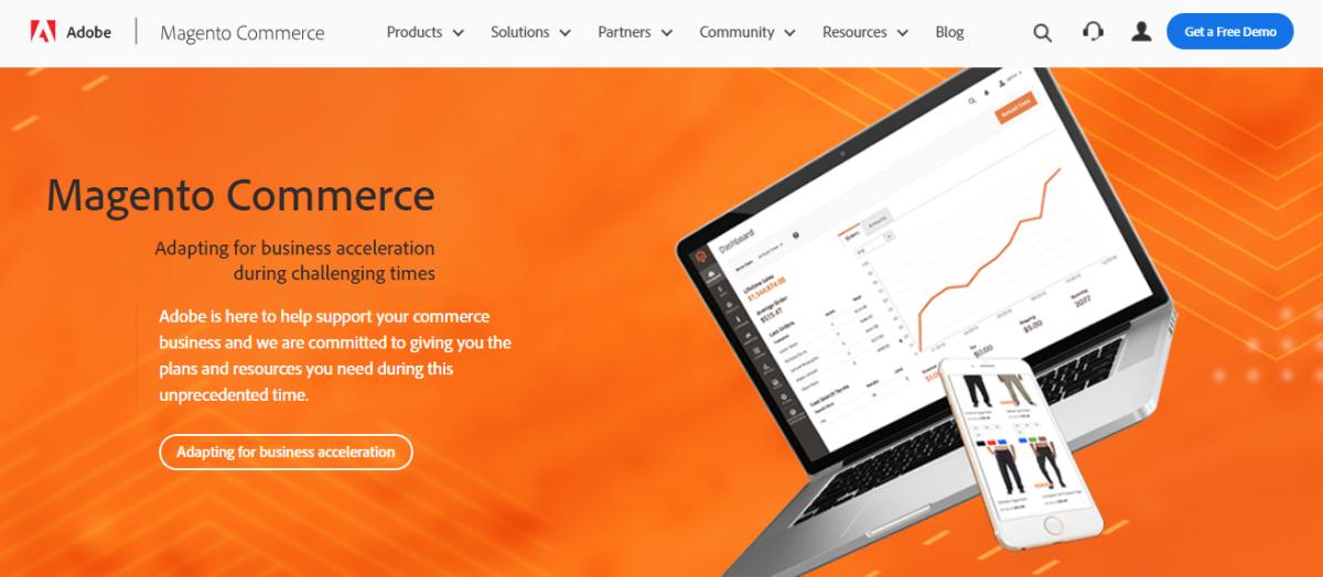 Magento, müşterilerinizin web sitenizde beklemeden alışveriş yapmasını sağlayacak hızda, güçlü sayfalar oluşturmanızı sağlar.