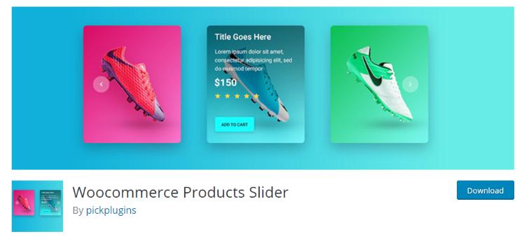 PickPlugins Product Slider, dilediğiniz herhangi bir sayfaya veya gönderiye animasyonlu sliderlar eklemenizi sağlıyor.