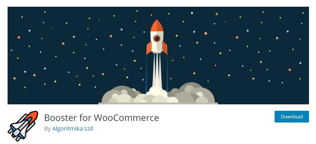 Booster for WooCommerce, birçok tema ve eklentinin sunabileceği işlevsel detayları tek bir eklentide toplamayı başaran popüler bir e-ticaret çözümü.