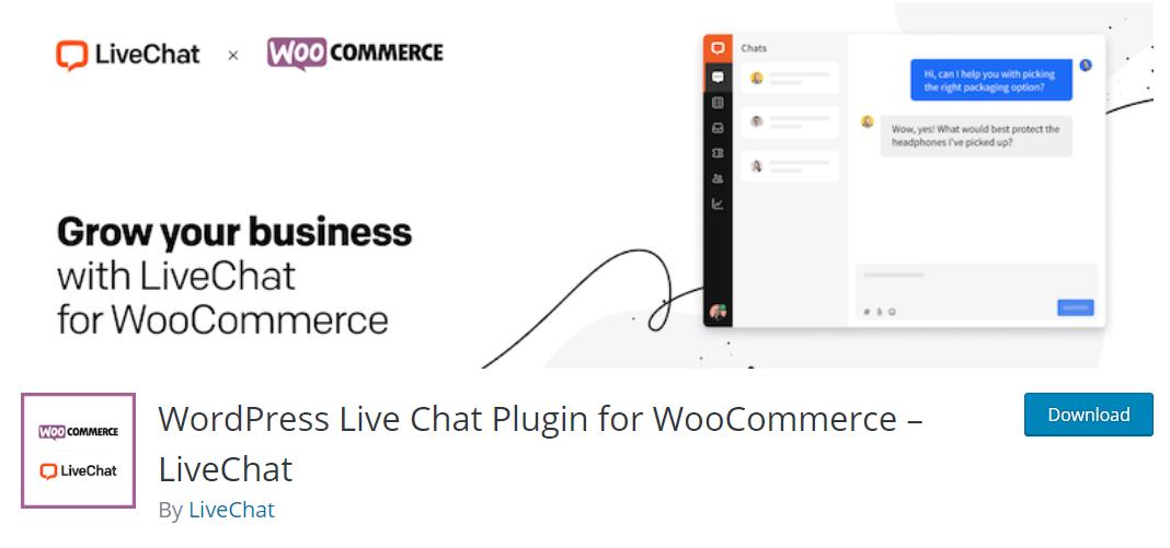 LiveChat, önceden başka müşteriler tarafından sorulan sorular için hazır yanıtlar sunabilen bir canlı destek eklentisi.