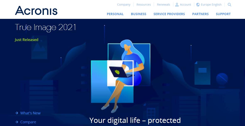 acronis true image, acronis nedir, veri koruma, siber güvenlik, yedekleme yazılımı, depolama, antivirüs, siber koruma