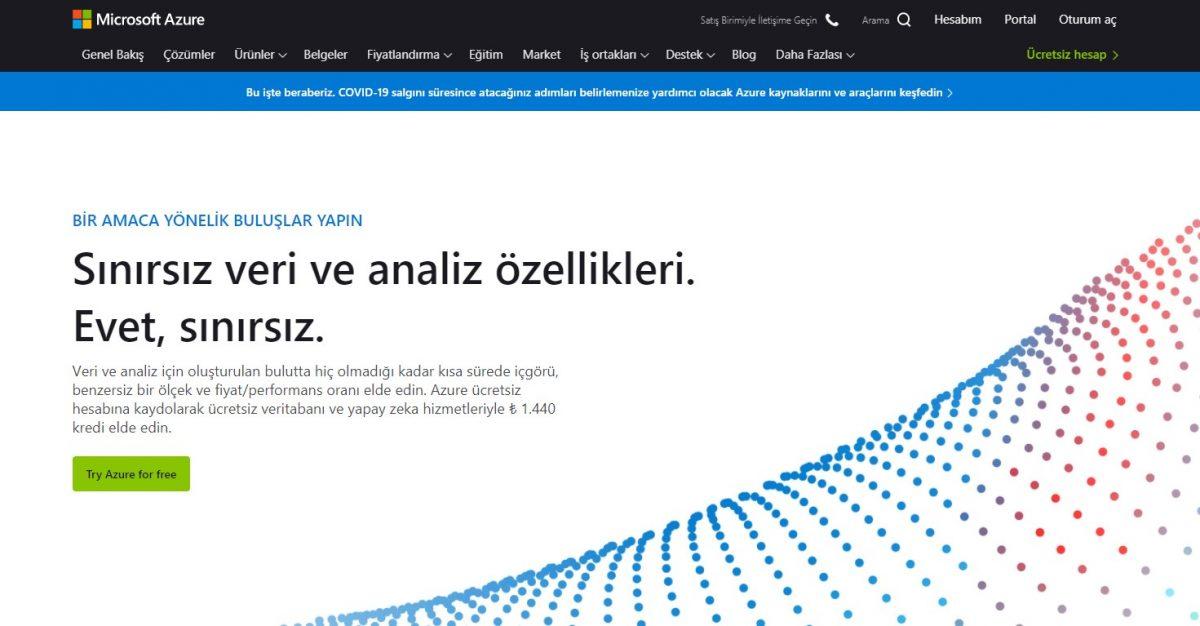 Azure nedir, Microsoft Azure, bulut bilişim, bulut tabanlı bilgi işlem hizmetleri, Iaas, PaaS