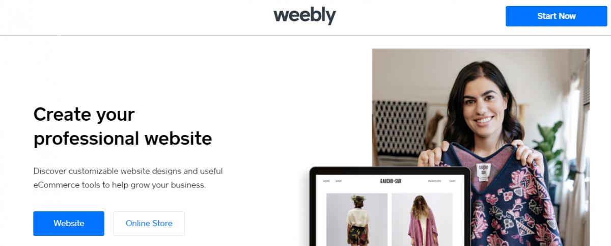 web tasarım programları, Web tasarım araçları, web tasarım platformları, Weebly