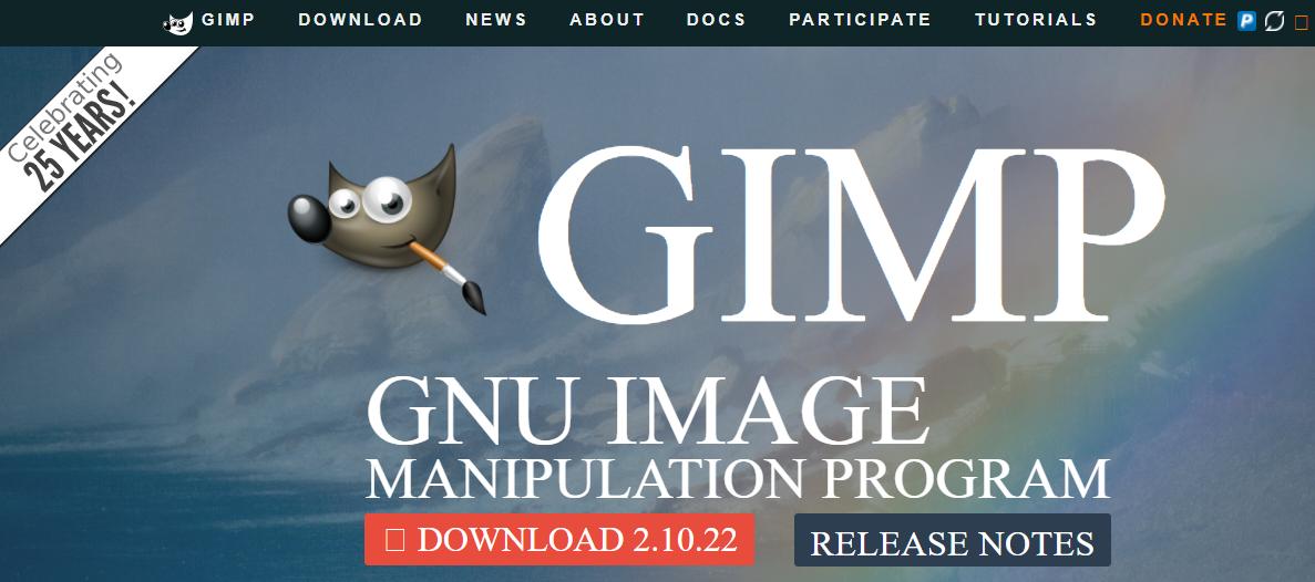 web tasarım programları, Web tasarım araçları, web tasarım platformları, GIMP