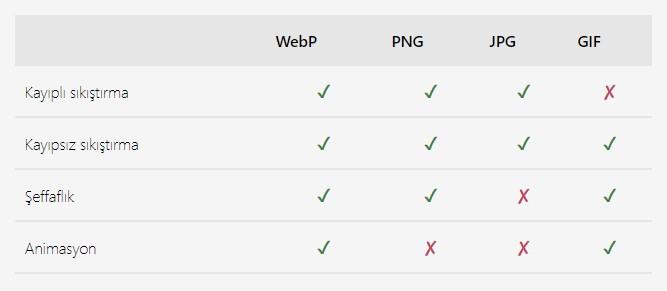 WordPress 5.8 WebP Desteği