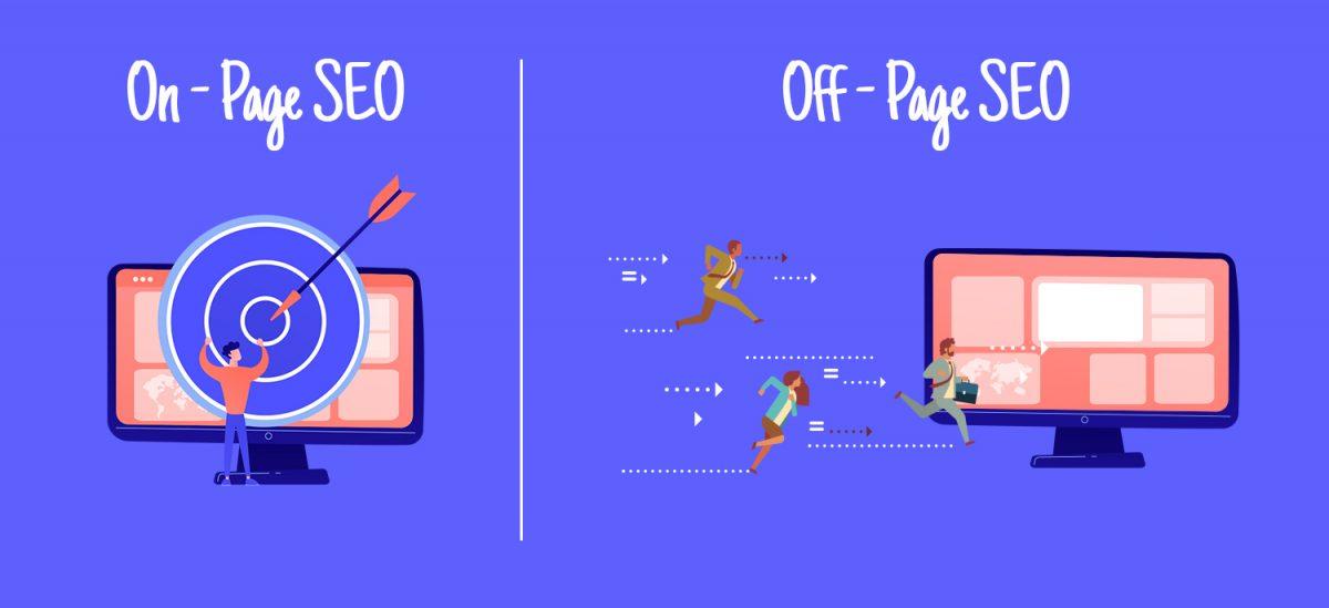 Sayfa İçi ve Sayfa Dışı SEO Arasındaki Farklar Nelerdir?, on page seo, off page seo